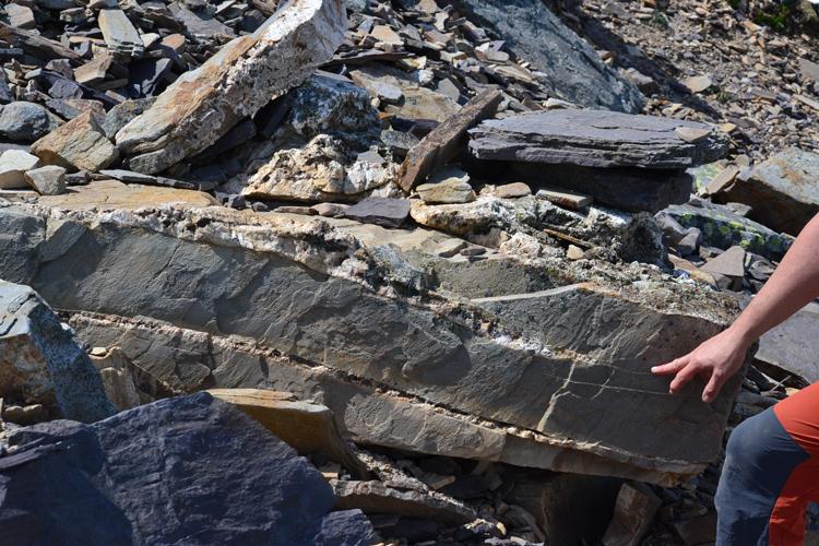 Los minerales de la subida al Moncayo