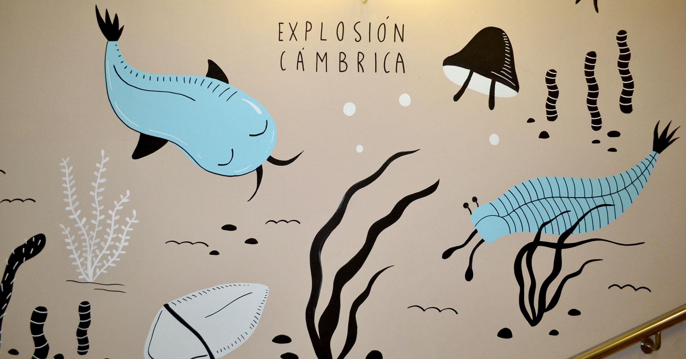 El arte en nuestra exposición de paleontología