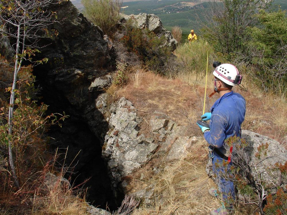 Entrada de la Mina de Olmacedo