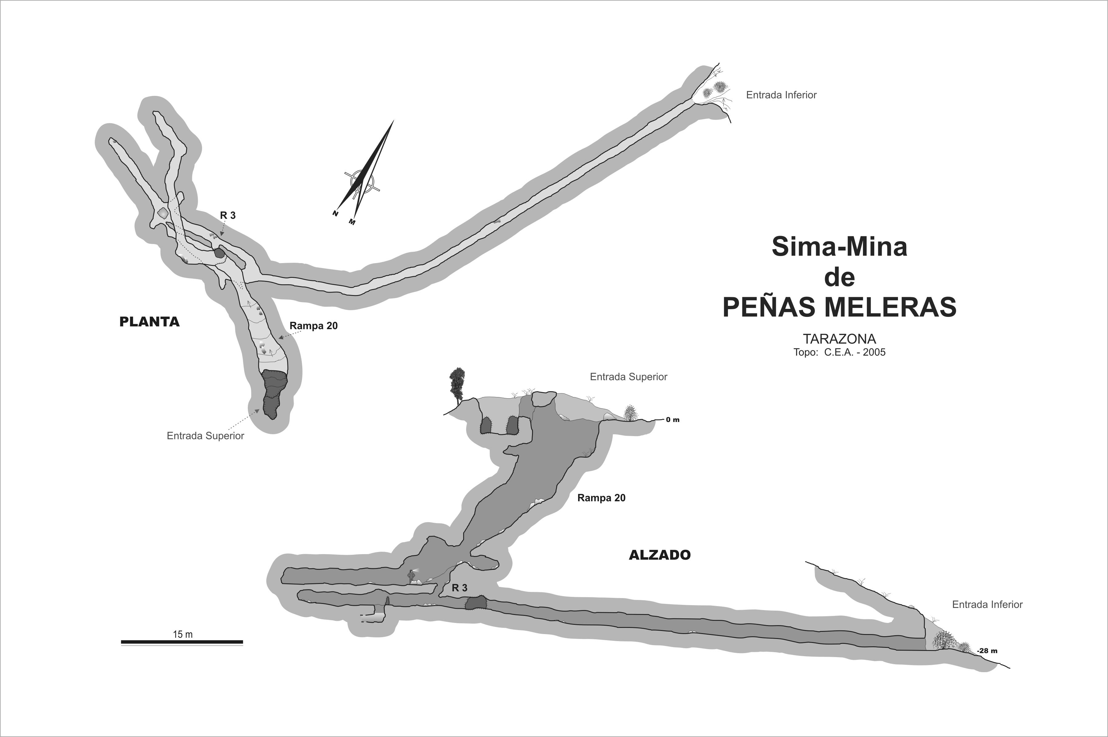 Topografia de la Mina de Olmacedo