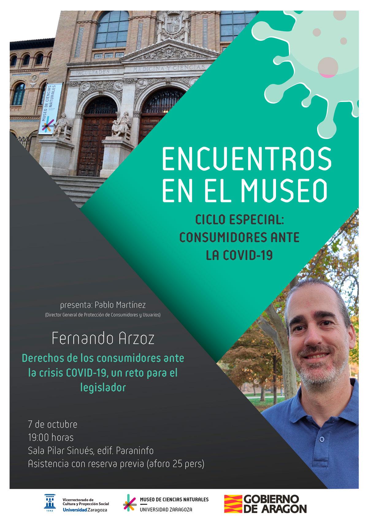"""Fernando Arzoz: """"Derechos de los consumidores ante la crisis COVID-19, un reto para el legislador"""""""