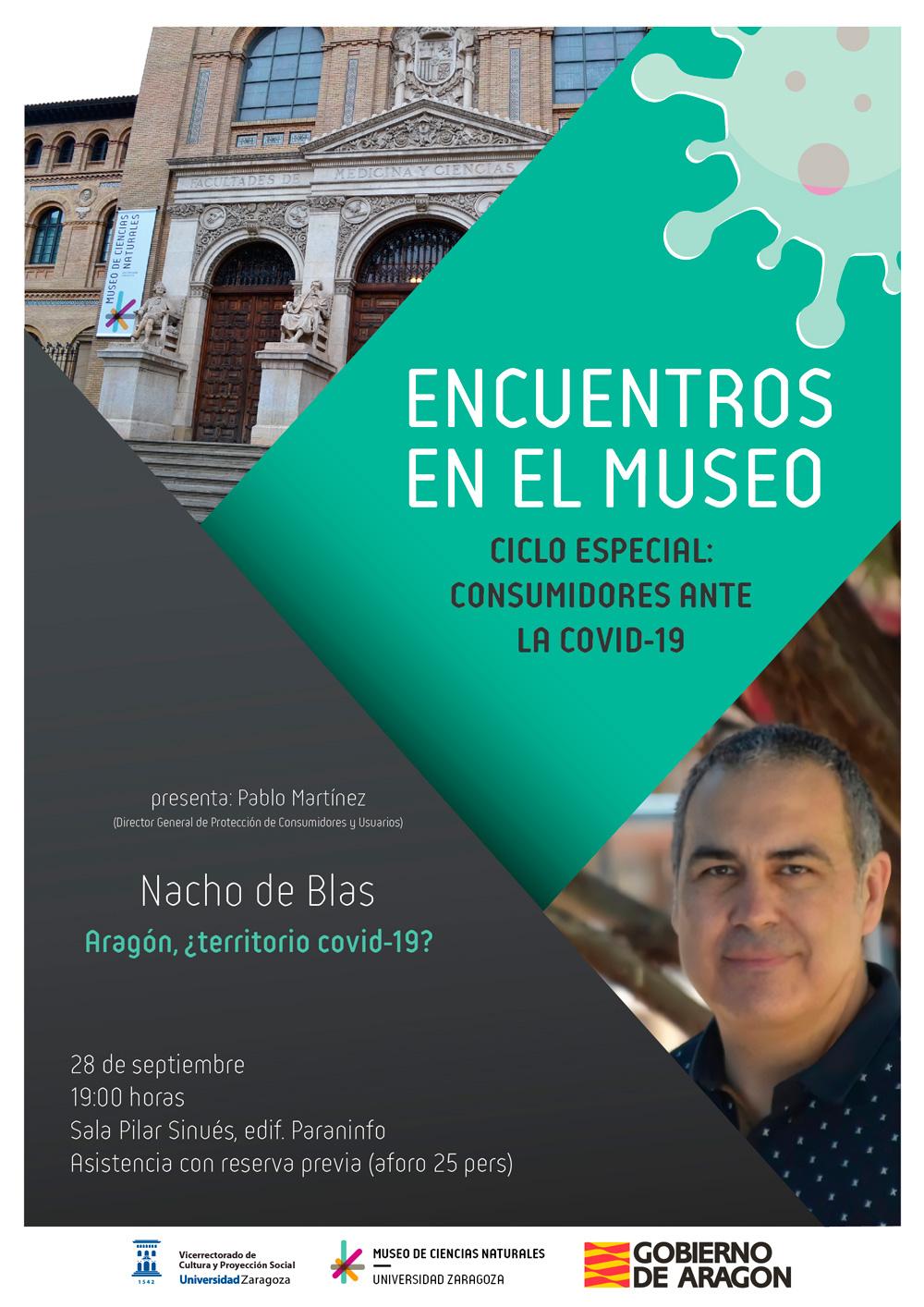 """Nacho de Blas: """"Aragón, ¿territorio covid-19?"""""""