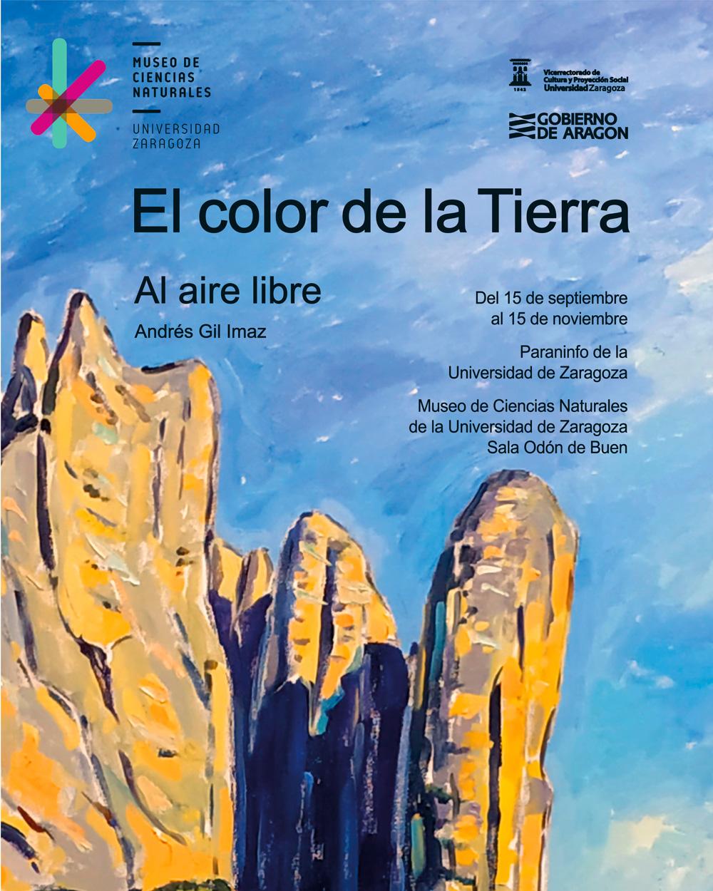"""Exposición temporal: """"El color de la Tierra. Al aire libre"""" (sala Odón de Buen, 15 de septiembre a 15 de noviembre)"""