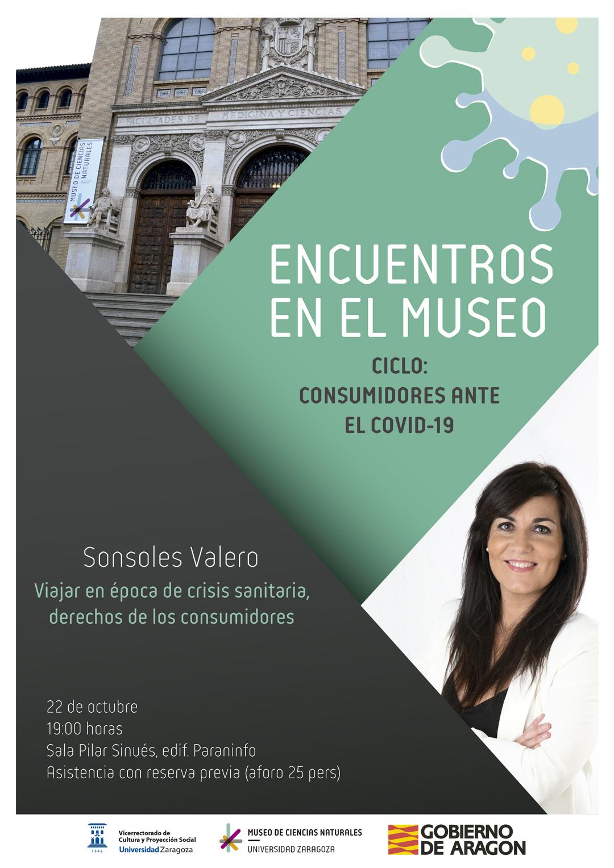 """Sonsoles Valero: """"Viajar en época de crisis sanitaria, derechos de los consumidores"""""""