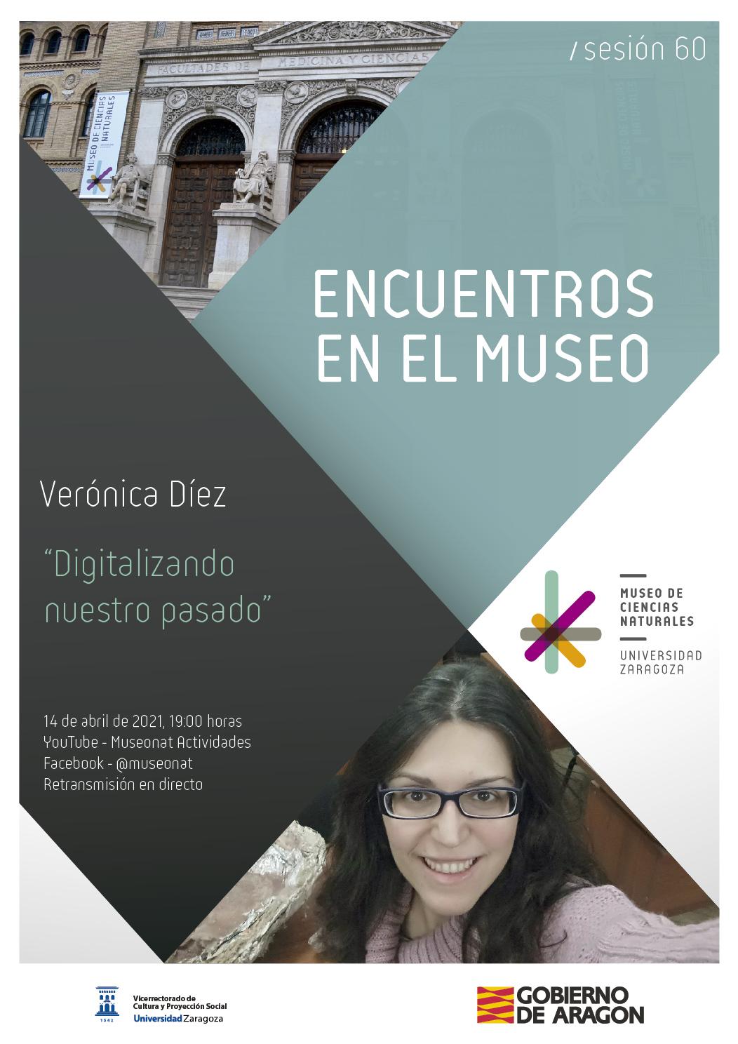 """La Dra. Verónica Díez en nuestros Encuentros en el Museo: """"Digitalizando nuestro pasado"""""""