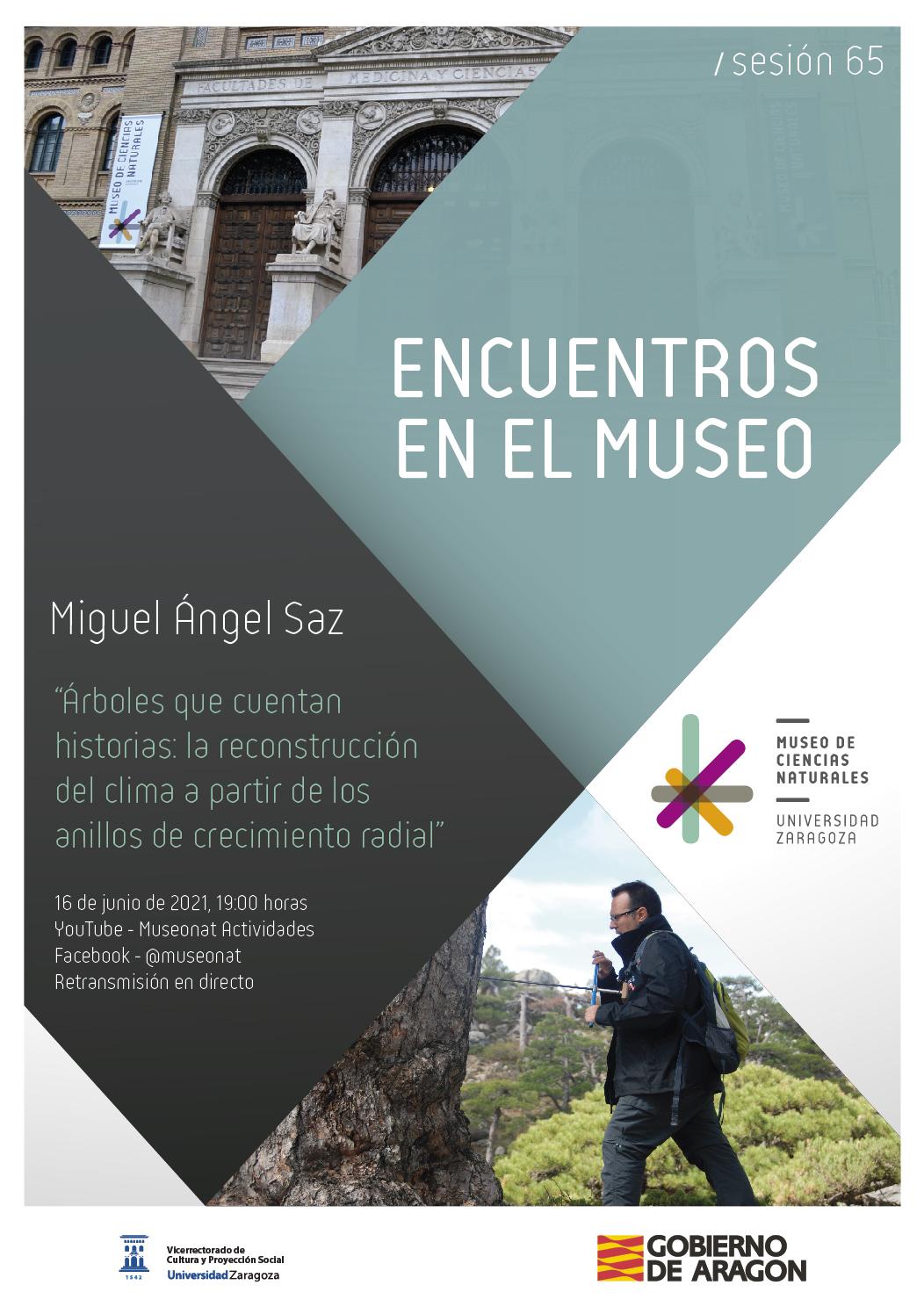 """Encuentros en el Museo con Miguel Ángel Saz: """"Árboles que cuentan historias"""""""