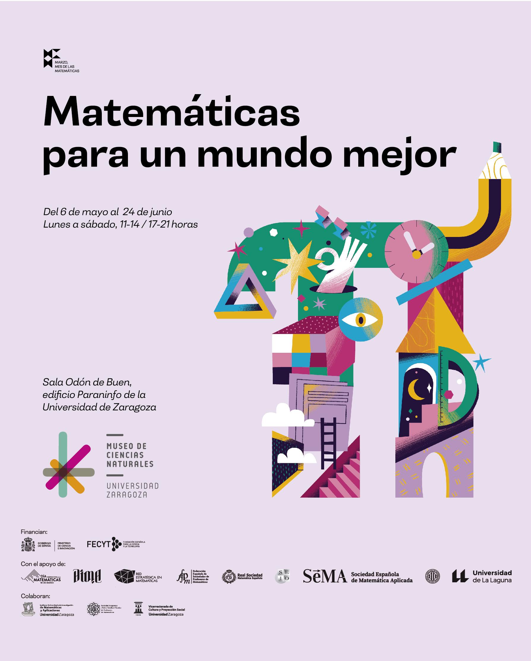 'Matemáticas para un mundo mejor' es la nueva exposición en el Museo