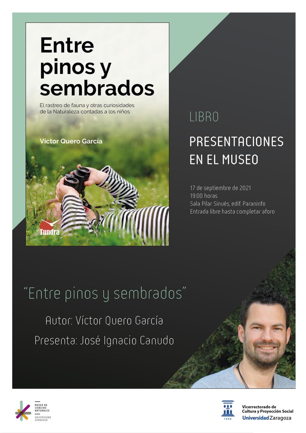 """Presentación del libro: """"Entre pinos y sembrados"""""""