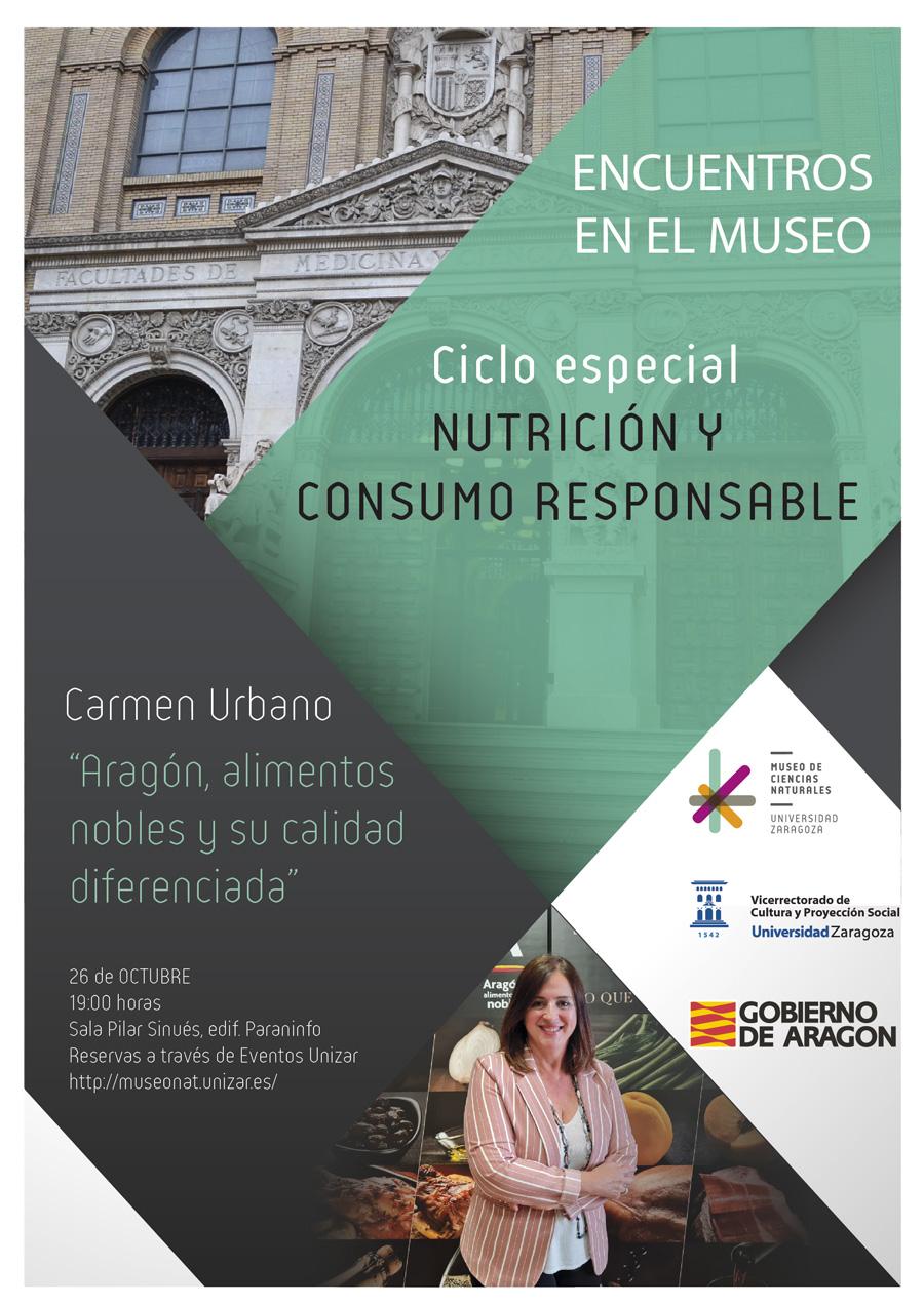 """Comienza un nuevo ciclo especial de Encuentros en el MCNUZ: """"Nutrición y consumo responsable"""""""
