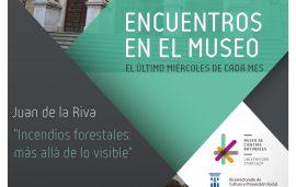ENCUENTROS EN EL MUSEO: JUAN DE LA RIVA