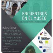 encuentros en el museo miércoles 22 de Noviembre: Helena Torres.